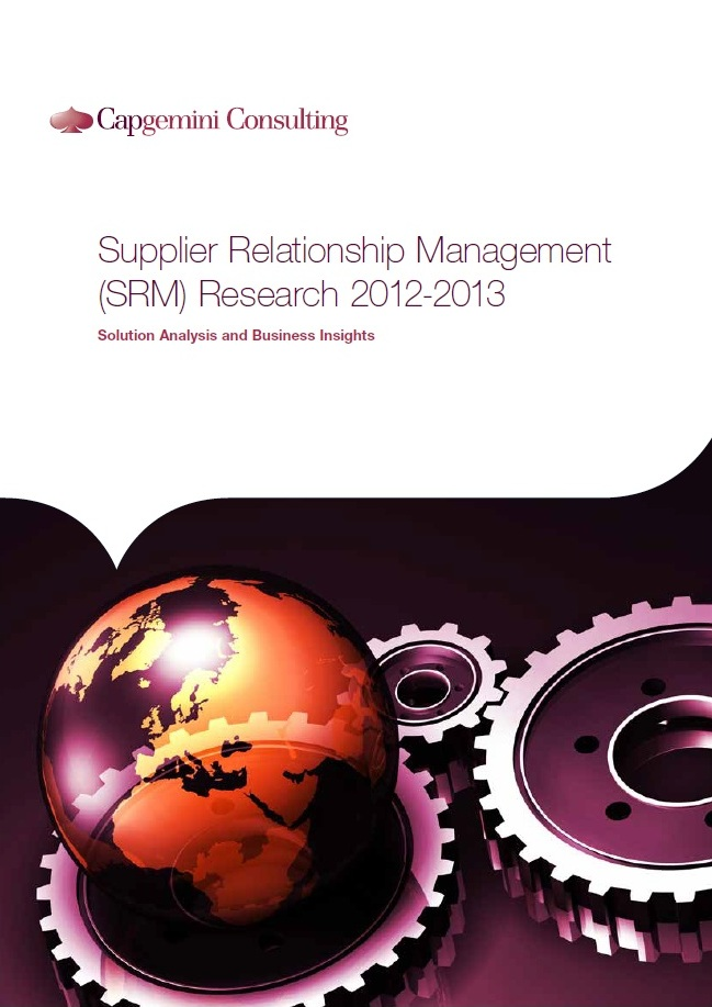 supply relationship management