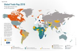 Global Trade Map 2018 - Supply Chain Movement