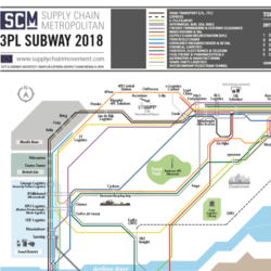 SCM 3PL Subway Map Europe 2018