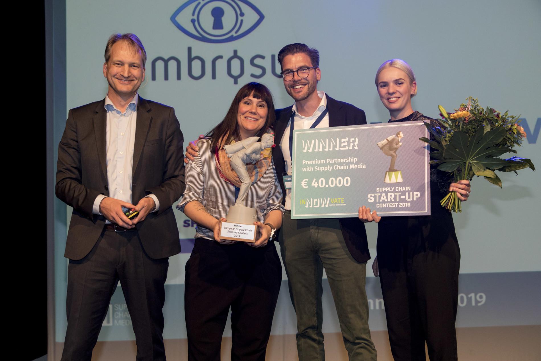 Winner start-up contest Circular IQ - Roy Vercoulen