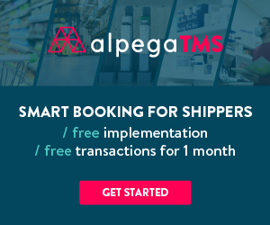 Alpega rectangle: Smart booking for shippers