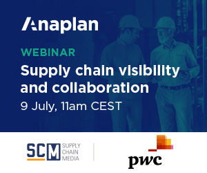 Webinar Anaplan Supply chain visibility & collaboration July 9