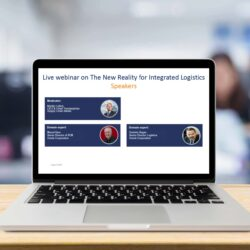 Webinar the new reality for integrated logistics