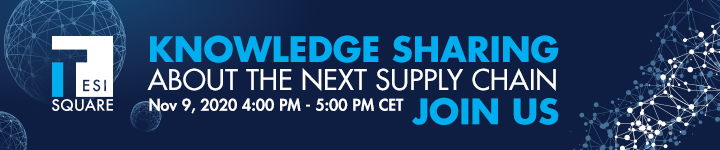 Webinar Tesisquare knowledge sharing about the next supply chain