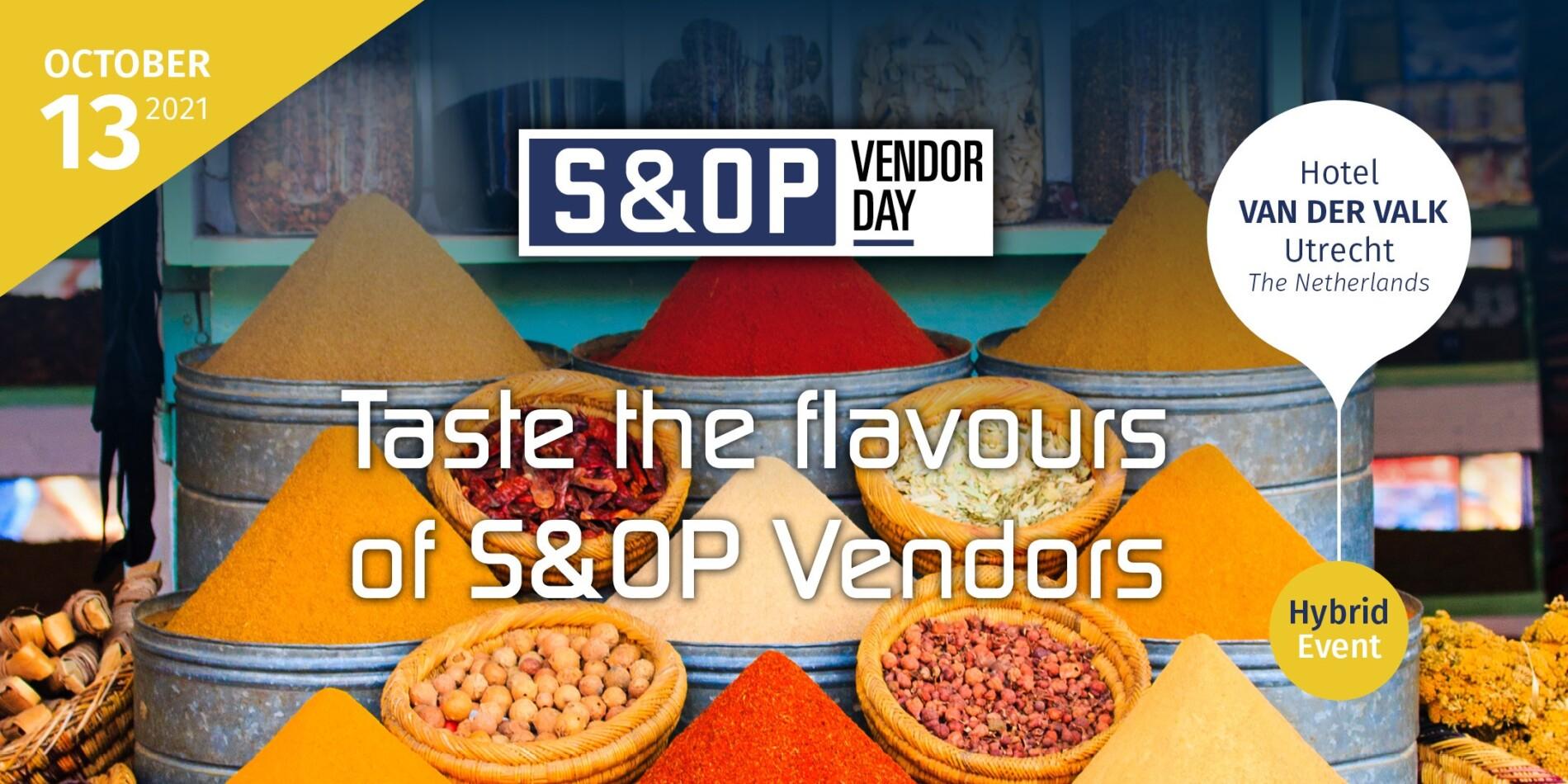 S&OP Vendor Day 2021