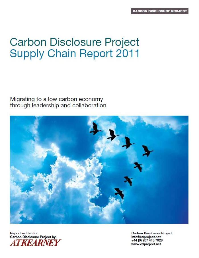 carbon disclosure project The cdp (formerly the carbon disclosure project) is an organisation based in the united kingdom which supports companies and cities to disclose the environmental impact of major.