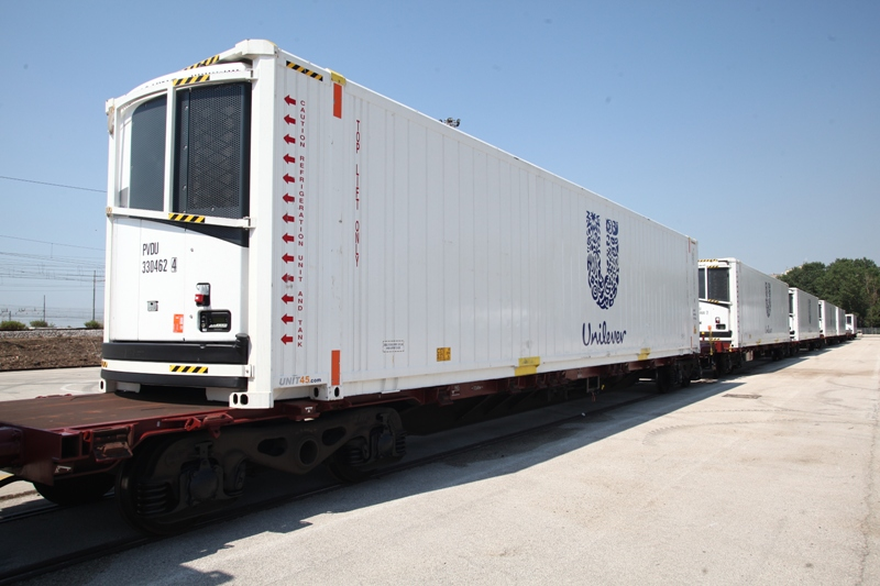 Unilever launches new sustainable logistics train initiative
